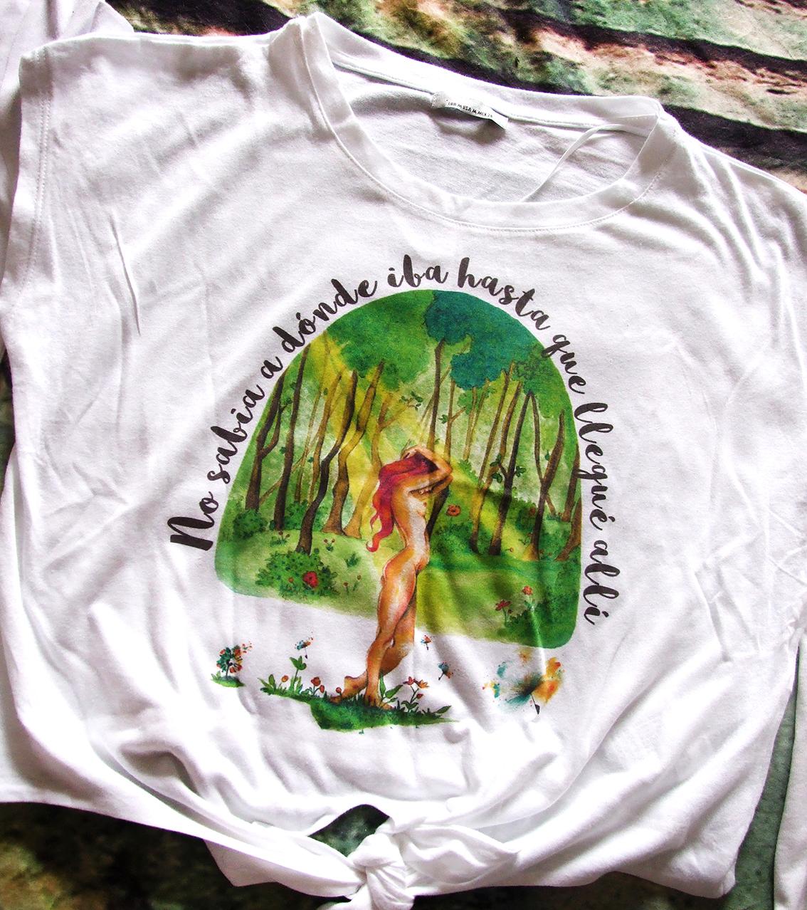 Camiseta En el bosque