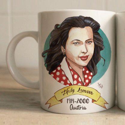 Taza Hedy Lamarr